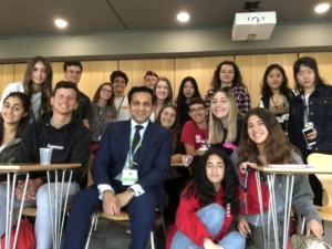 Tarak Nath Gorai with his students for the Change management Keynote speaker at St Catherine college, Oxford University, Oxford Royale