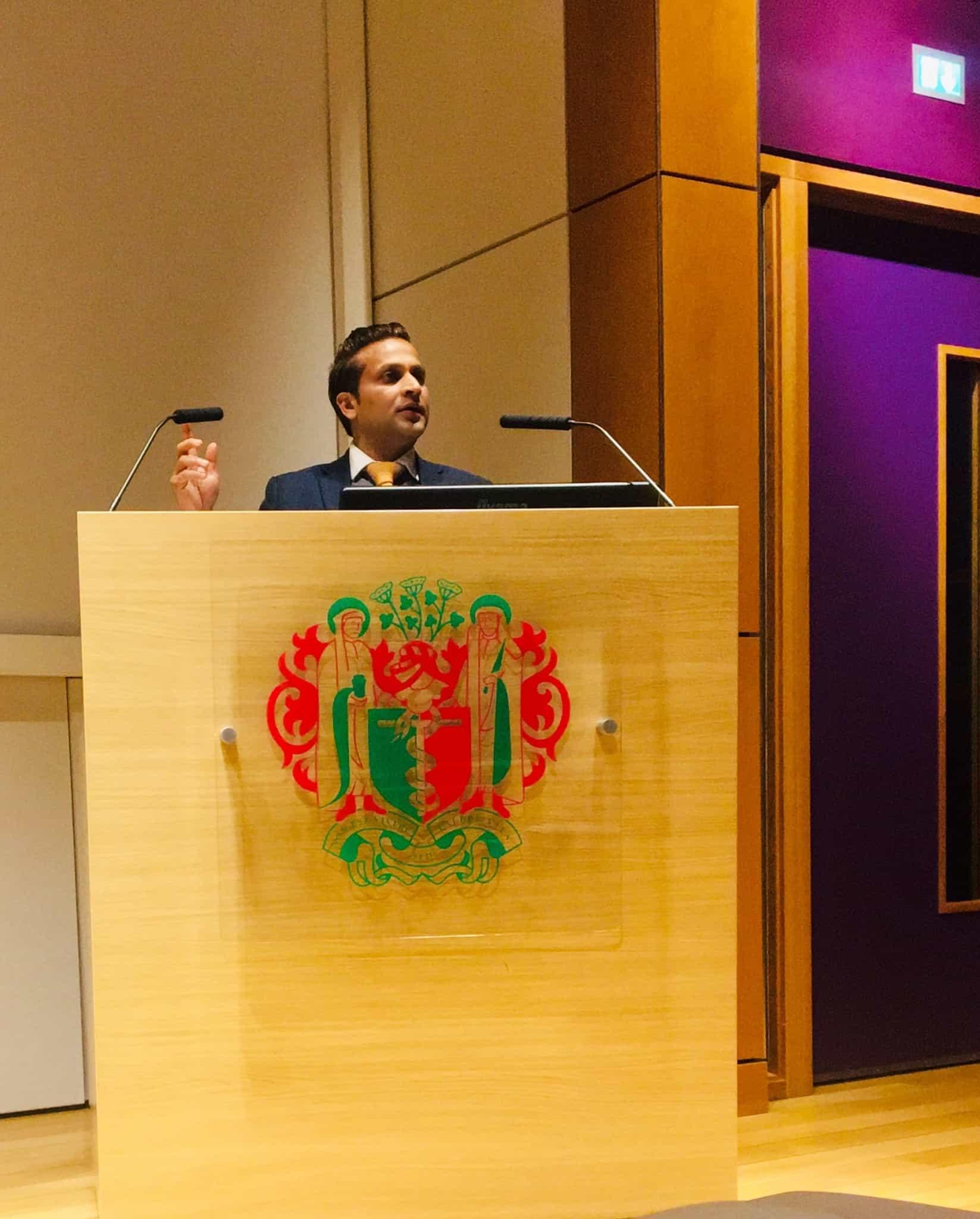 Tarak Nath Gorai delivery Change Management Keynote Speaker at Royal Society of Medicine, London