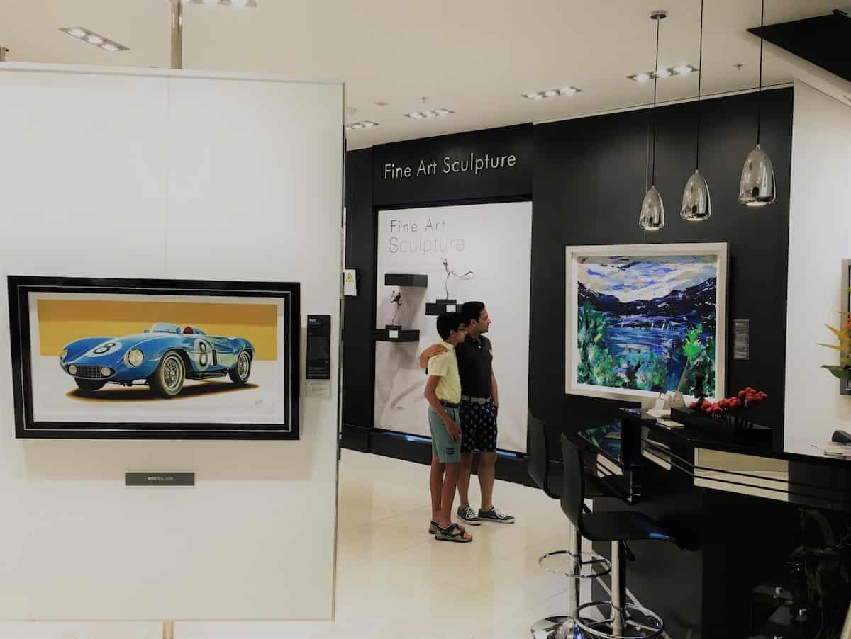 Painting - Gallery MK